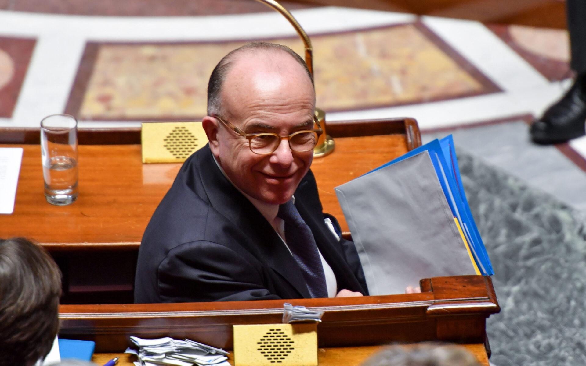 Bernard Cazeneuve au travail, Macron, Darmon 19/01/2017