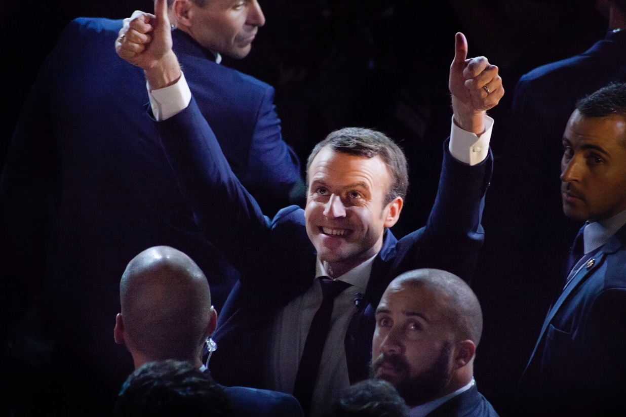 Emmanuel Macron © Tim Douet