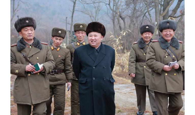 Kim Jong-Un, dictateur de la Corée du Nord (©STR)