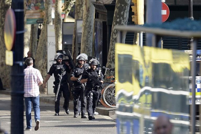 L'attentat de Barcelone, jeudi 17 août, a fait 15 morts et plusieurs dizaines de blessés ©JOSEP LAGO - AFP