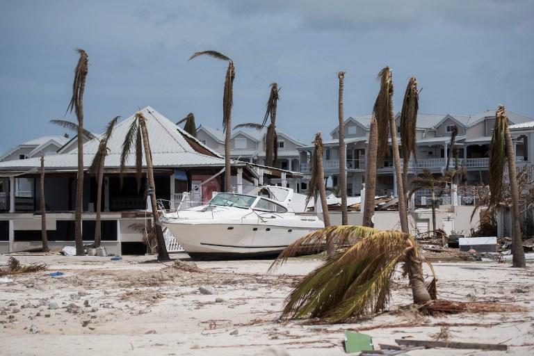 Saint-Martin, après l'ouragan Irma (©MARTIN BUREAU - AFP)