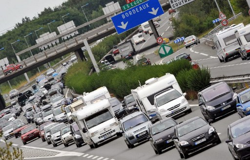 Embouteillage de voitures (©PIERRE ANDRIEU - AFP)