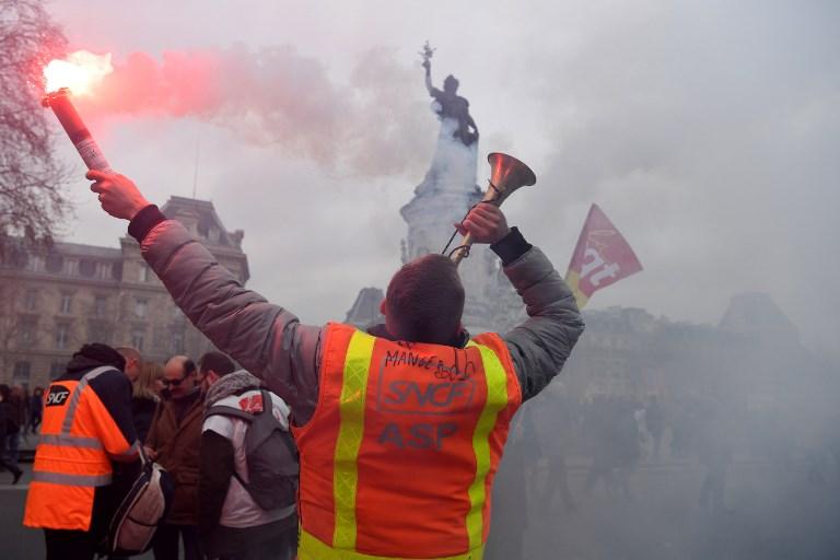 Le mouvement social des cheminots bientôt rejoint par le secteur de l'énergie (©ALAIN JOCARD - AFP)