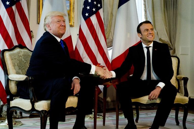 """""""Macron joue un jeu un peu serréen ayant choisi Trump, c'est un ami embarrassant"""""""