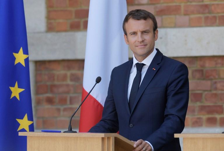 Emmanuel Macron (©DIMITAR DILKOFF - AFP)