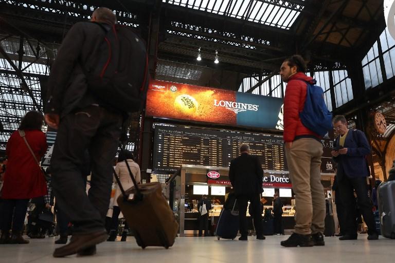 Illustration grève SNCF (©KENZO TRIBOUILLARD - AFP)