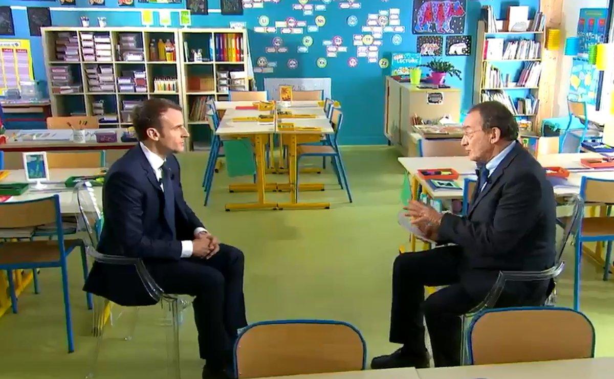 Emmanuel Macron Au Jt De Tf1 Un Exercice Reussi Sud Radio