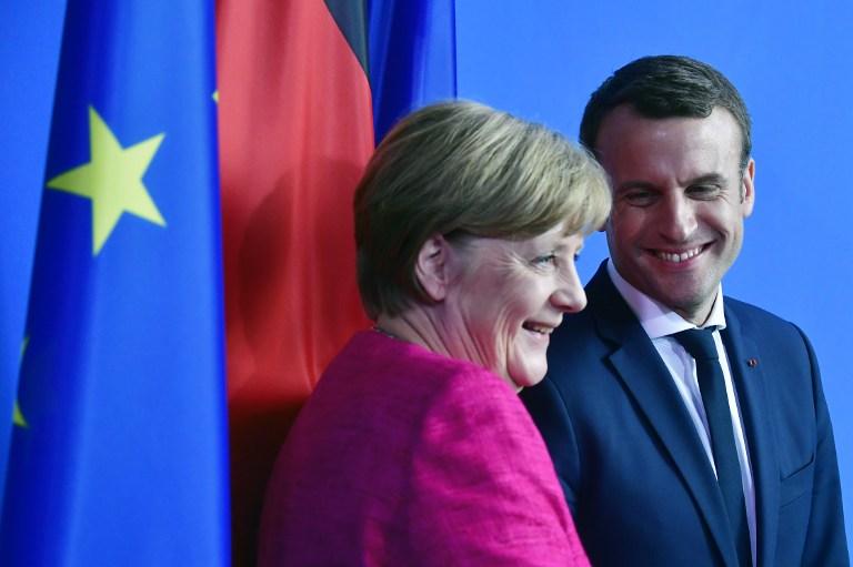 Macron et Merkel peinent à convaincre sur l'immigration