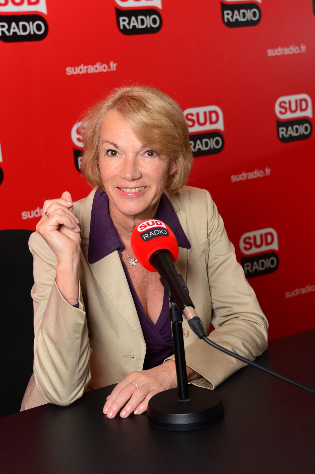 Brigitte Lahaie de 14h à 16h sur Sud Radio
