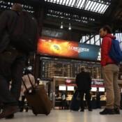De nombreux usagers ont vu leur quotidien perturbé par la grève à la SNCF (©KENZO TRIBOUILLARD - AFP)