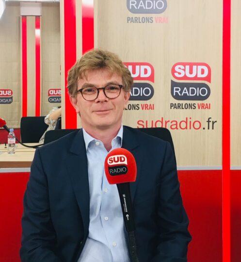 Marc Fesneau interviewé par Patrick Roger sur Sud Radio, le 8 juillet 2019 à 7h40.