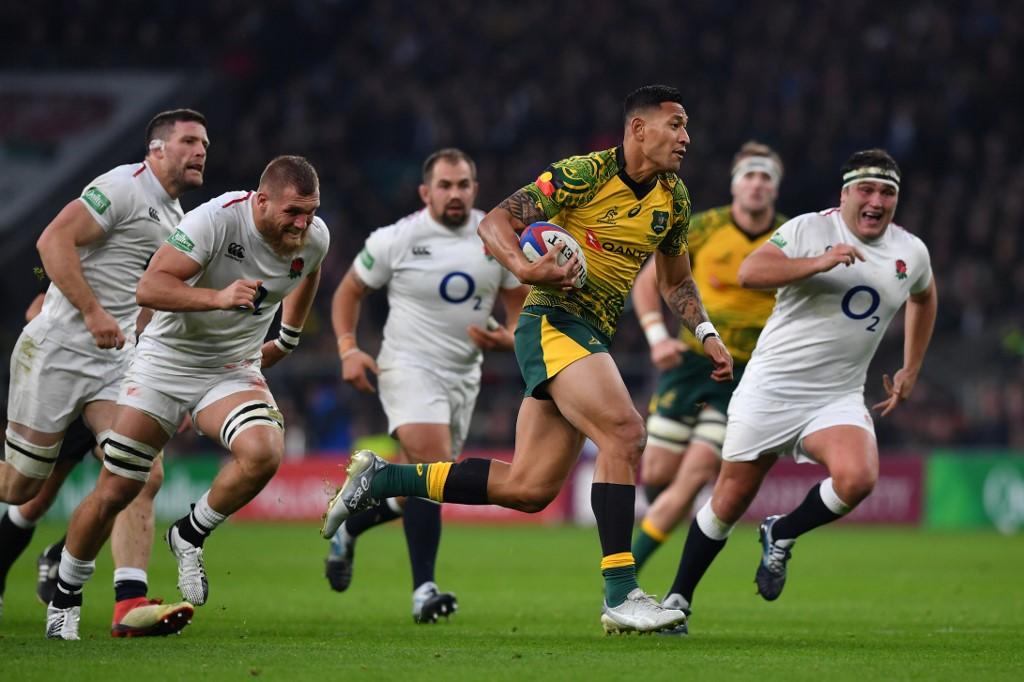 Rugby à XIII : l'Australien Israel Folau s'engage avec les Dragons catalans
