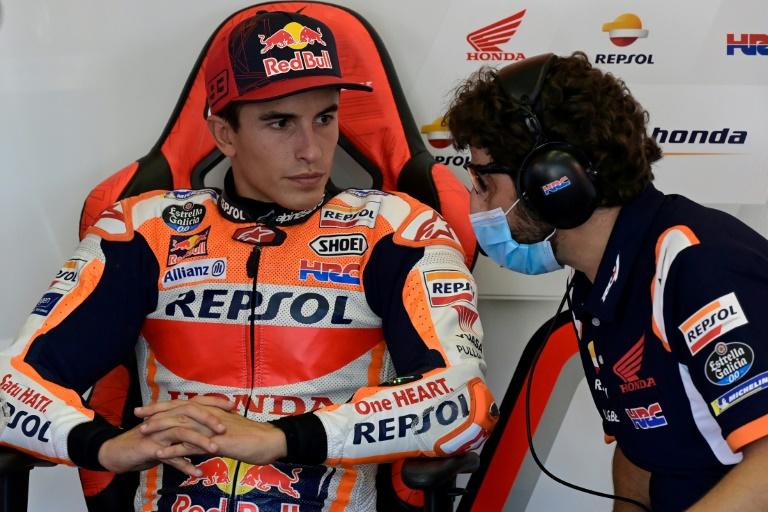 Quartararo encore en pole, Marquez forfait