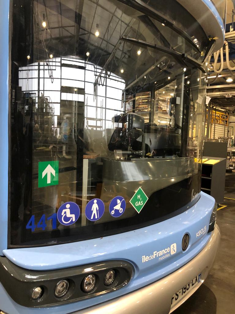 Bus à hydrogène :