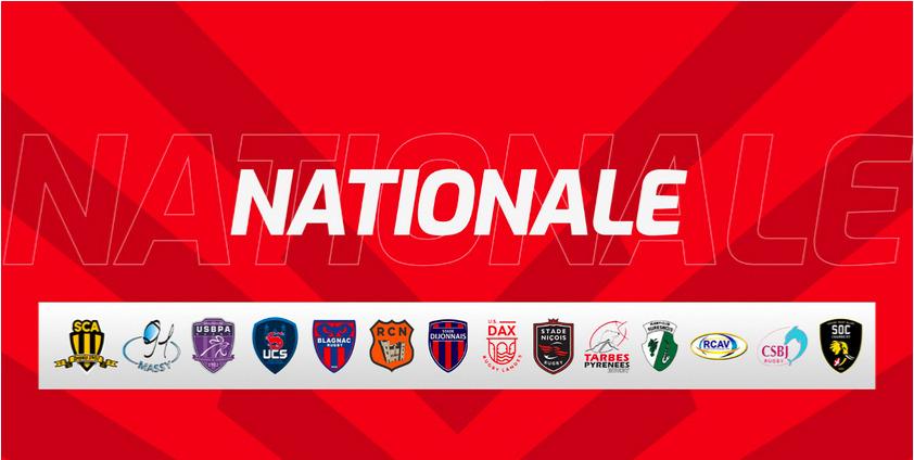 <b>Rugby - Nationale</b> - J16 : Les résultats