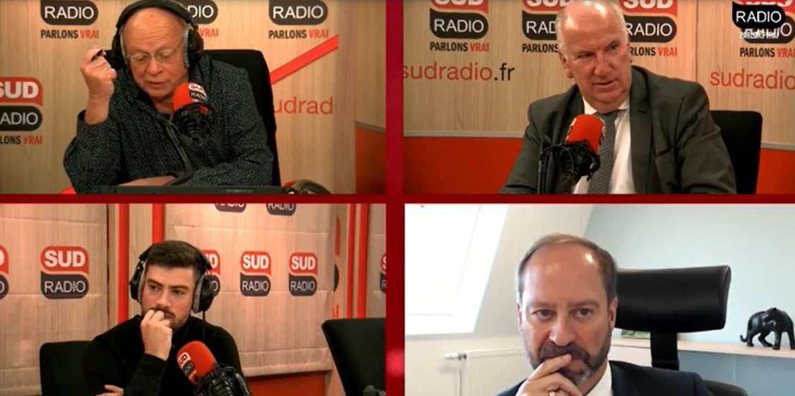 Eric Bocquet et Eric Vernier sur Sud Radio